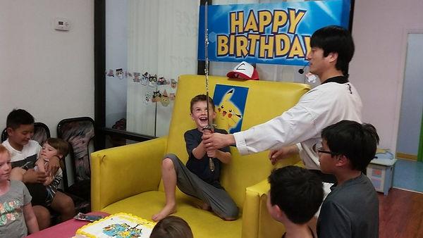 Birthday party in dublin CA
