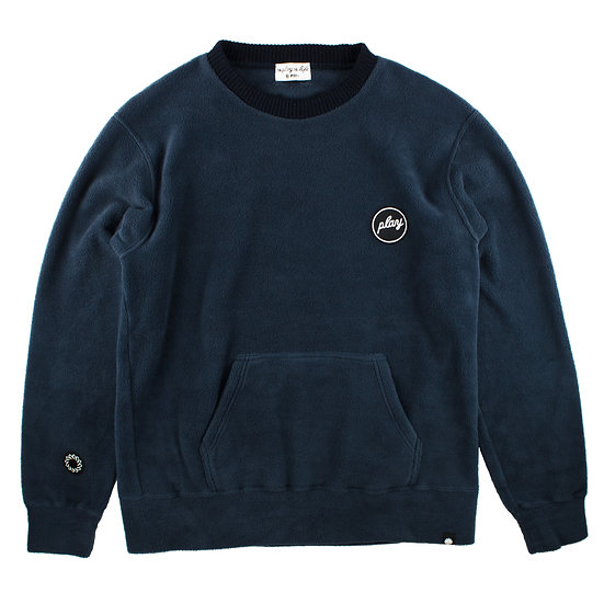P01 (プレイ) FLEECE PLAY COOL CREW