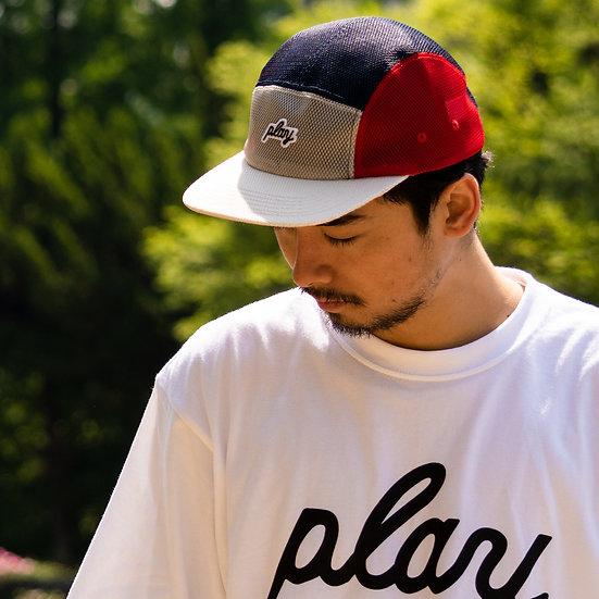 P01 (プレイ) PLAYER MESH JET CAP