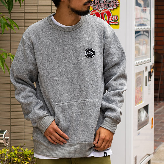 P01 (プレイ) FLEECE PLAY FS CREW