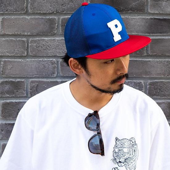 P01 (プレイ) CLASSIC P MESH CAP