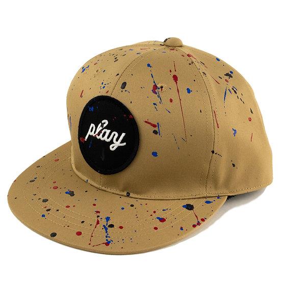 P01 (プレイ) SPLAYSH CIRCLE PLAY CAP
