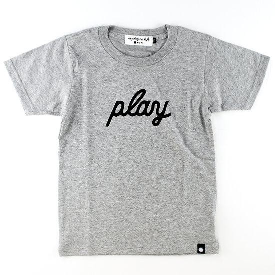 P01 (プレイ) PLAY KIDS TEE