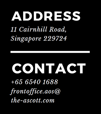 Ascott orchard singapore contact address