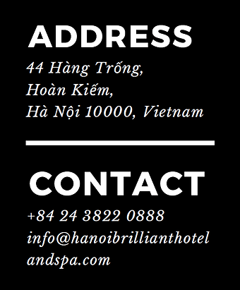 hanoi brilliant hotel and spa contact ad