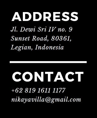 nikaya villa contact address.png