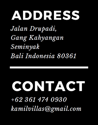 Kamil Villas address contact.png