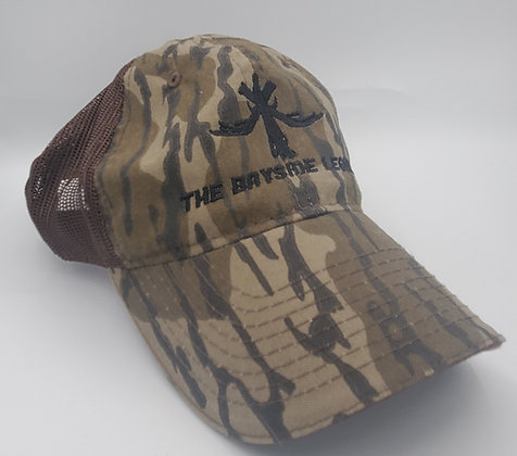 Mossy Oak Bottomland - unstructured meshback hat