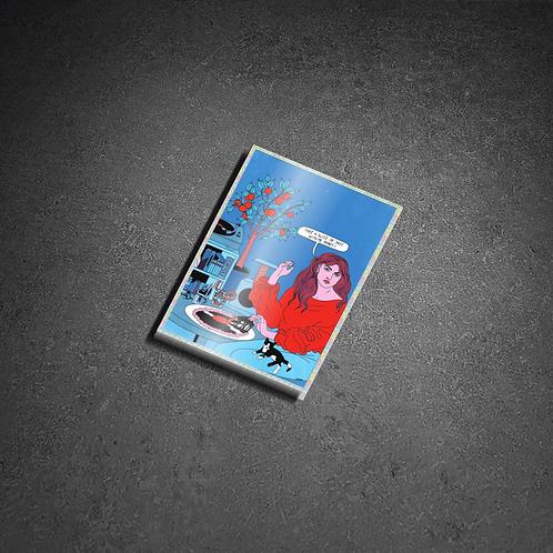 Sticker «Jazz Slice» effet Pailleté