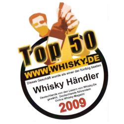 Top 50 der Whiskyhändler 2009