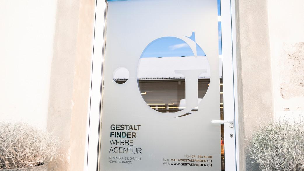 Gestaltfinder Werbeagentur - Eingang