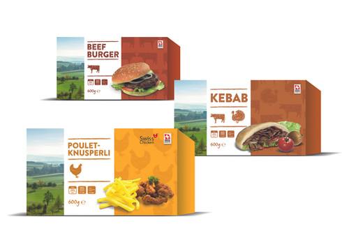 Poulet-Fleisch-Produkte