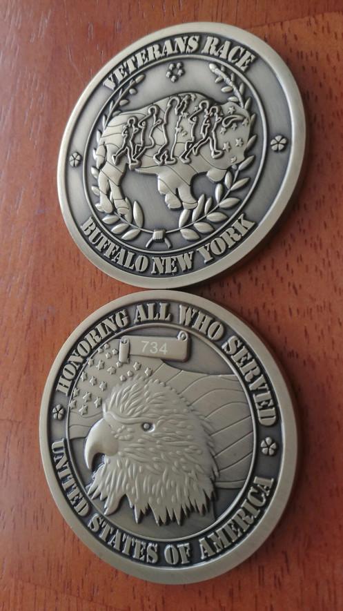 2018 Veteran Challenge Coin