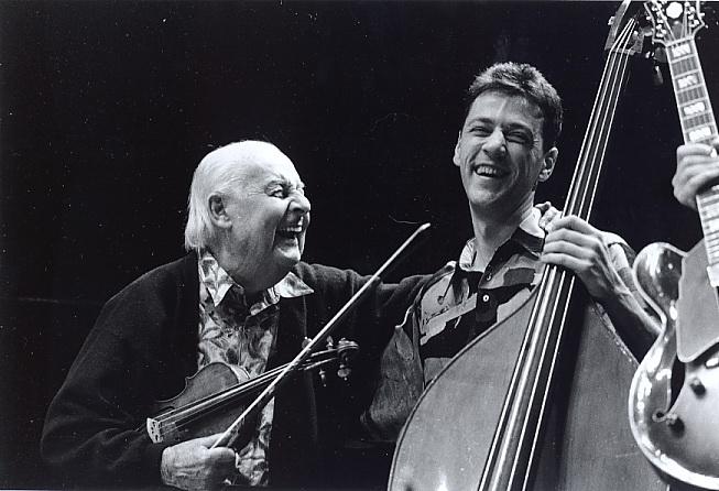 Avec Stéphane Grappelli