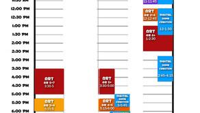 2020-2021 SassyTuna Schedule