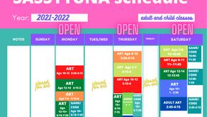 September 2021-2022 Schedule !