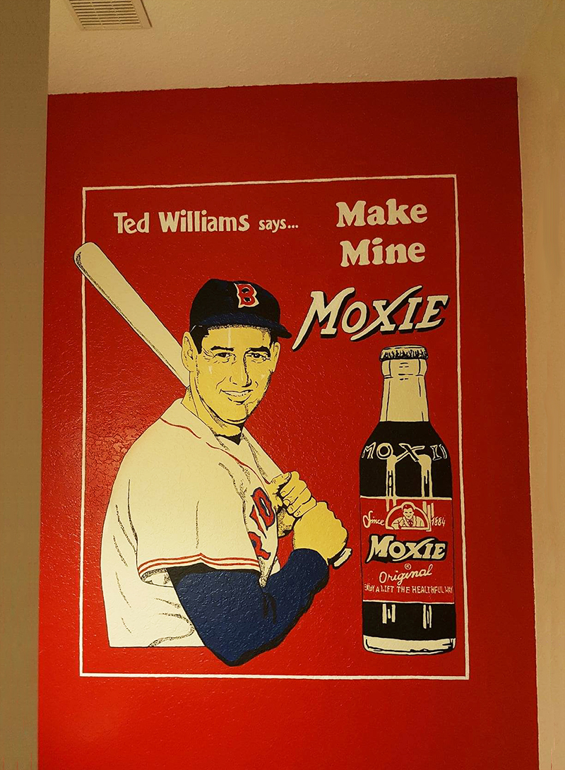 Ted Williams Mural