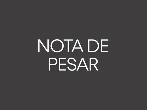 Nota de Pesar - Cláudio de Andrade