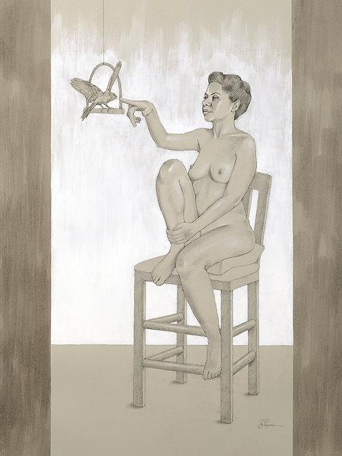 Lesbia's Secret Giclée Print