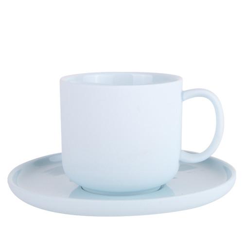 Emerson Teacup Saucer 200ml Ice Blue
