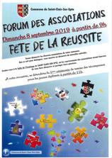 Retrouvez Sport Saint Clair au forum des associations pour une année pleine d'activités