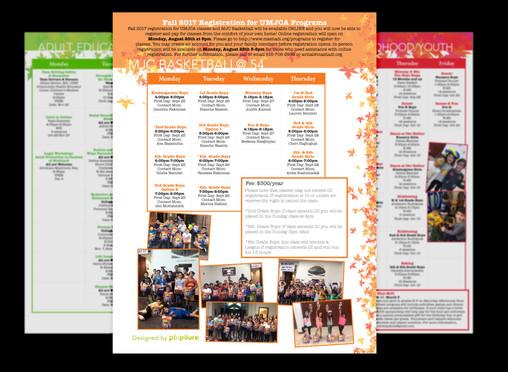 UMJCA Program Guide Mini Catalog