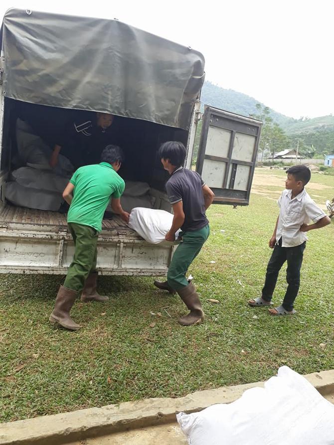 Disaster Relief in Hoa Binh, Vietnam