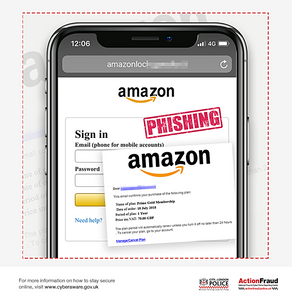 These fake emails are after your Amazon login details!