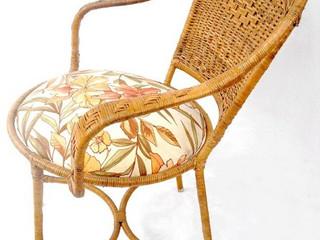 Cadeira junco estofado