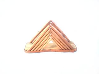 Porta guardanapo pirâmide