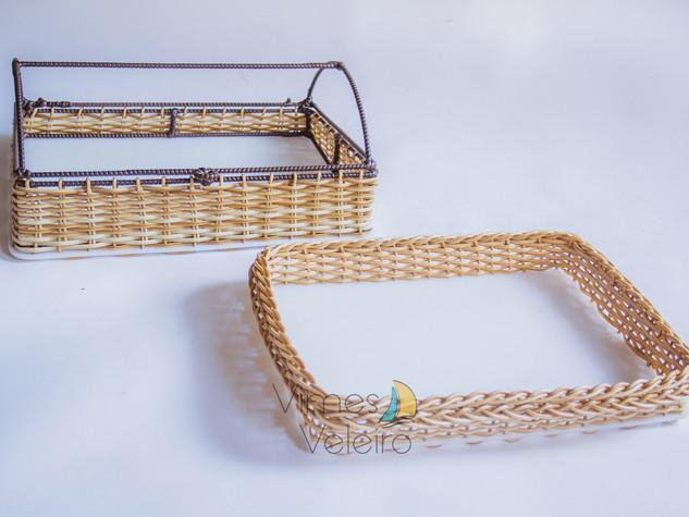 Bandejas fibra sintética