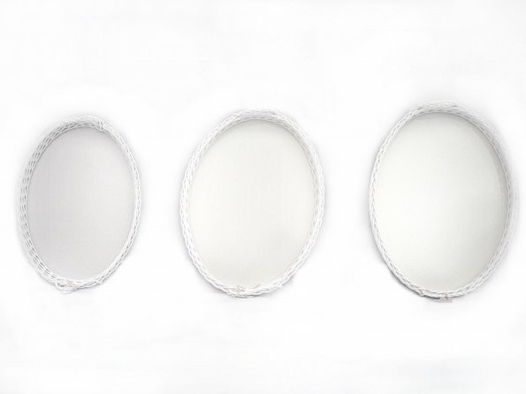 Bandeja oval sintético