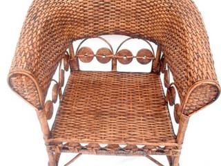 Cadeira marquesa rococó envelhecida