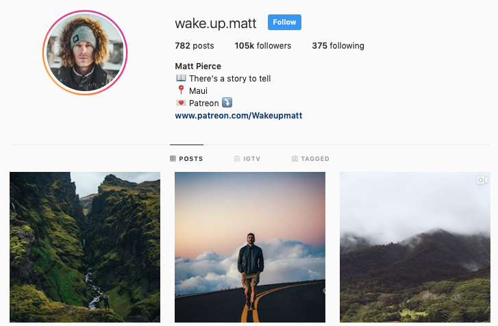 MATT PIERCE instagram