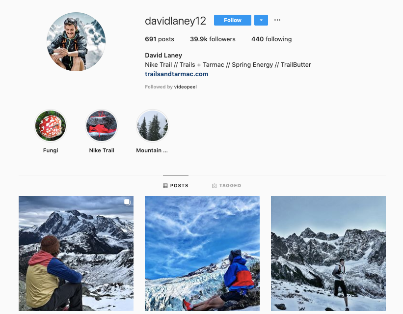 DAVID LANEY instagram