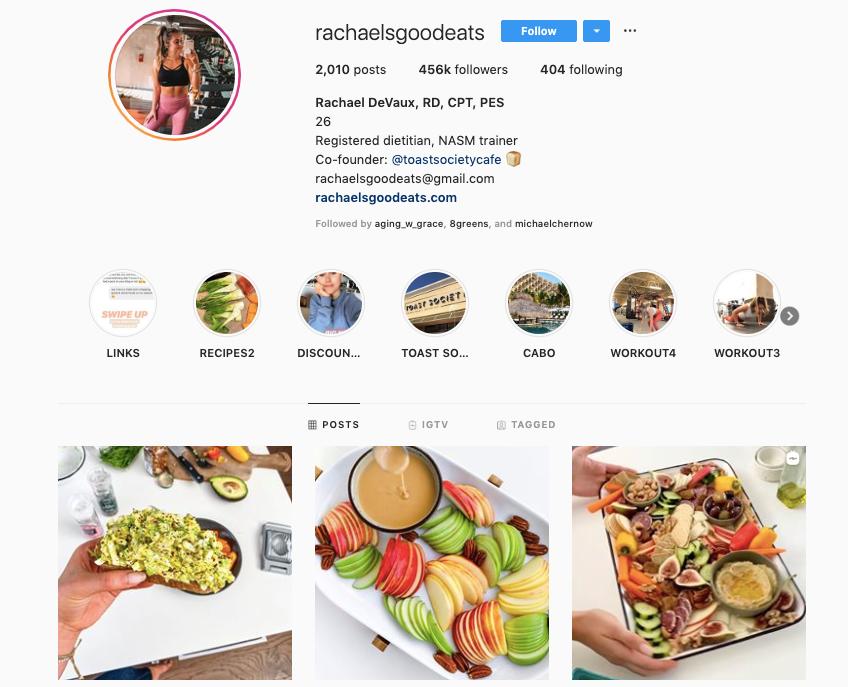 RACHAEL DEVAUX instagram