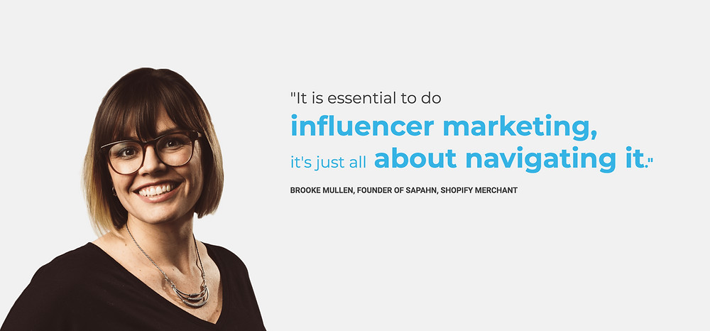 Brooke Mullen, a Shopify merchant and entrepreneur