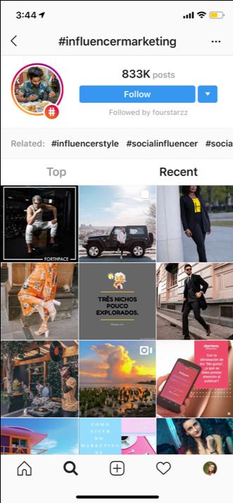 influencer marketing hashtag