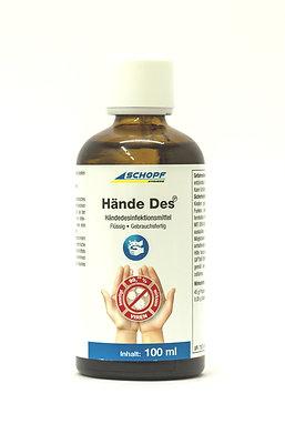 Hände Des IP Handdesinfektionsmittel 100 ml