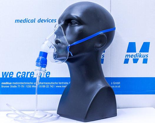 MaxiNeb - Mikrovernebler mit Maske und 2,1 m O2 Leitung