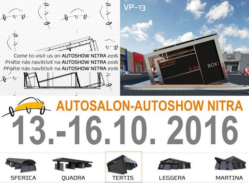 Pozvánka na 23. ročník výstavy AUTOSALÓN - AUTOSHOW NITRA (SK) 2016