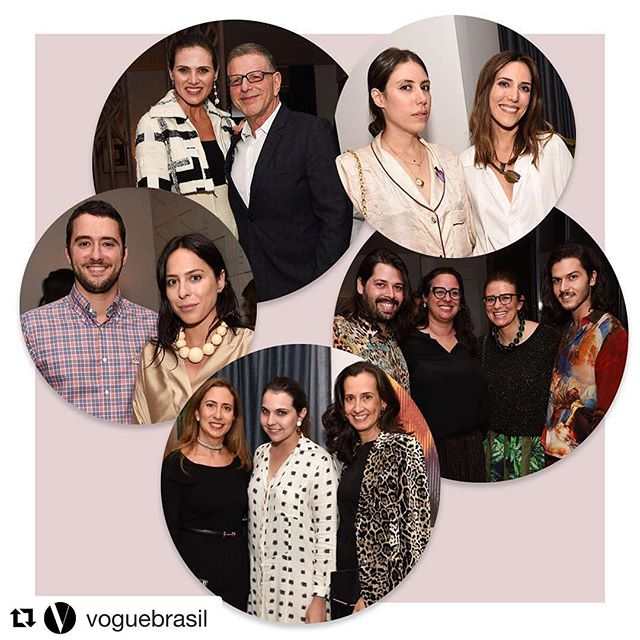 #Repost _voguebrasil with _repostapp_・・・_A festa não para! Mais cliques do jantar que _johannasteinb