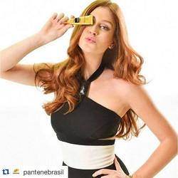 #Repost _pantenebrasil with _repostapp._・・・_A _marinaruybarbosa escolheu a #AmpolaPantene para cuida