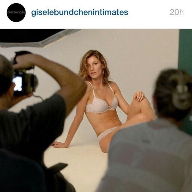 Making of #giselebundchenintimates _bobwolfenson _gisele _henriquem85 _nilzetes_ _cabelo8588