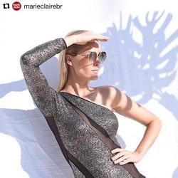 #Repost _marieclairebr with _repostapp_・・・_A apresentadora _ahickmann fotografa hoje a nova campanha