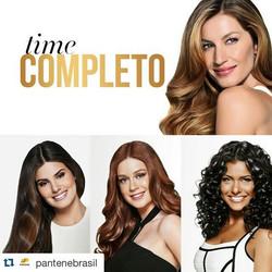 #Repost _pantenebrasil with _repostapp._・・・_Agora o time de #BelezasPantene está completo