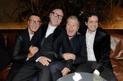 Stefano Gabbana, Domenico Dolce, Mario Testino e Carlos Jereissati Filho