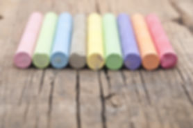 Colorful Chalks