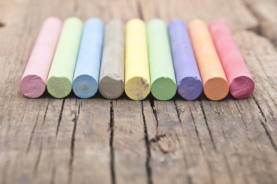 Colorful Chalks