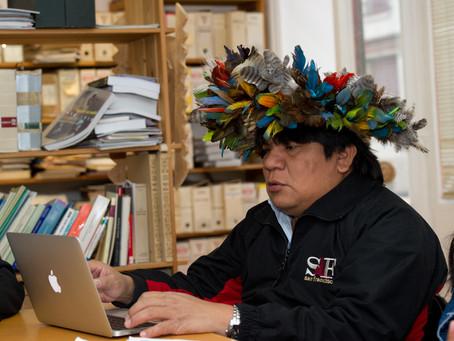 "Coordenação executiva do ""Parlaíndio Brasil""  cargo do cacique Almir Narayamoga Suruí"